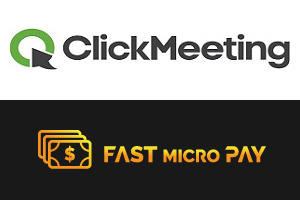 Fast Micro Pay integracja z webinarem ClickMeeting